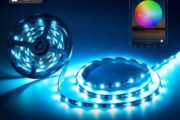 Управление RGB лентой