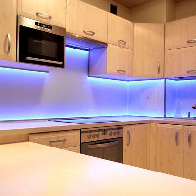 Светодиодные ленты 220в для кухни