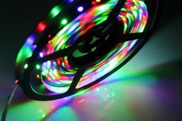 Мощность RGB ленты