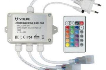 контроллер для светодиодной ленты 220v