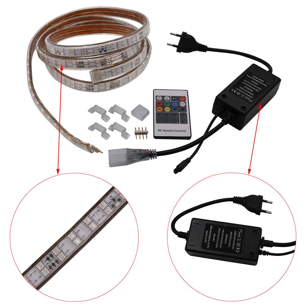Контроллер для светодиодной ленты 220 В