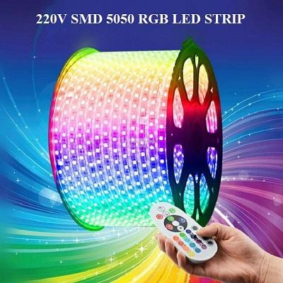 Лента RGB 220V