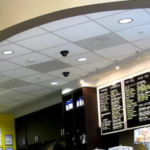 Освещение ресторана