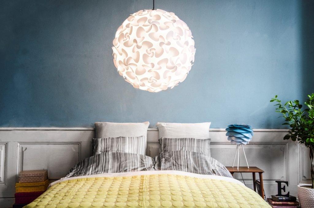 Светильники для спальни своими руками фото
