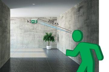 Расчет аварийного освещения