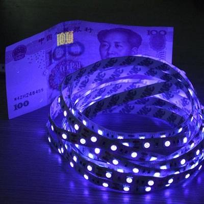 Светодиодная ультрафиолетовая лента