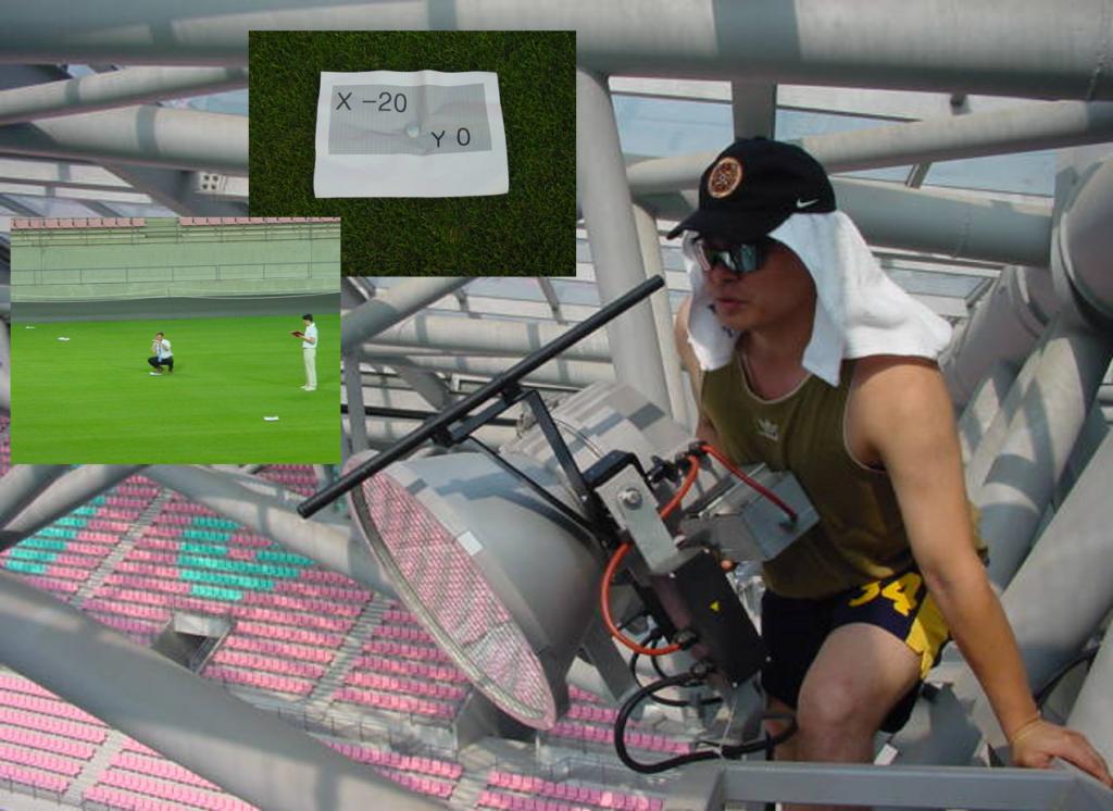 Освещение футбольного поля