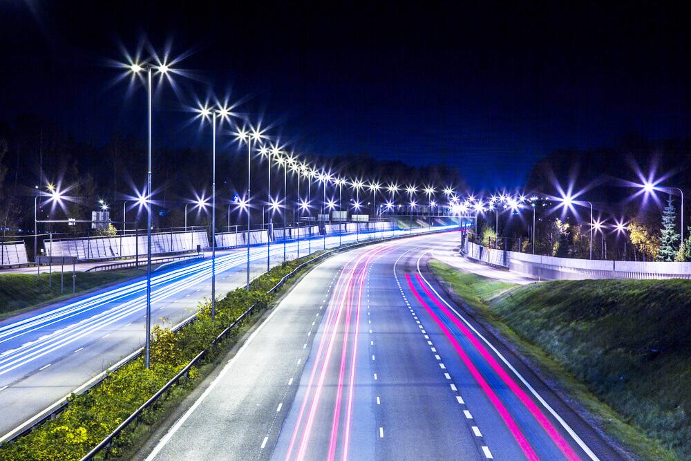 Освещение автодорог