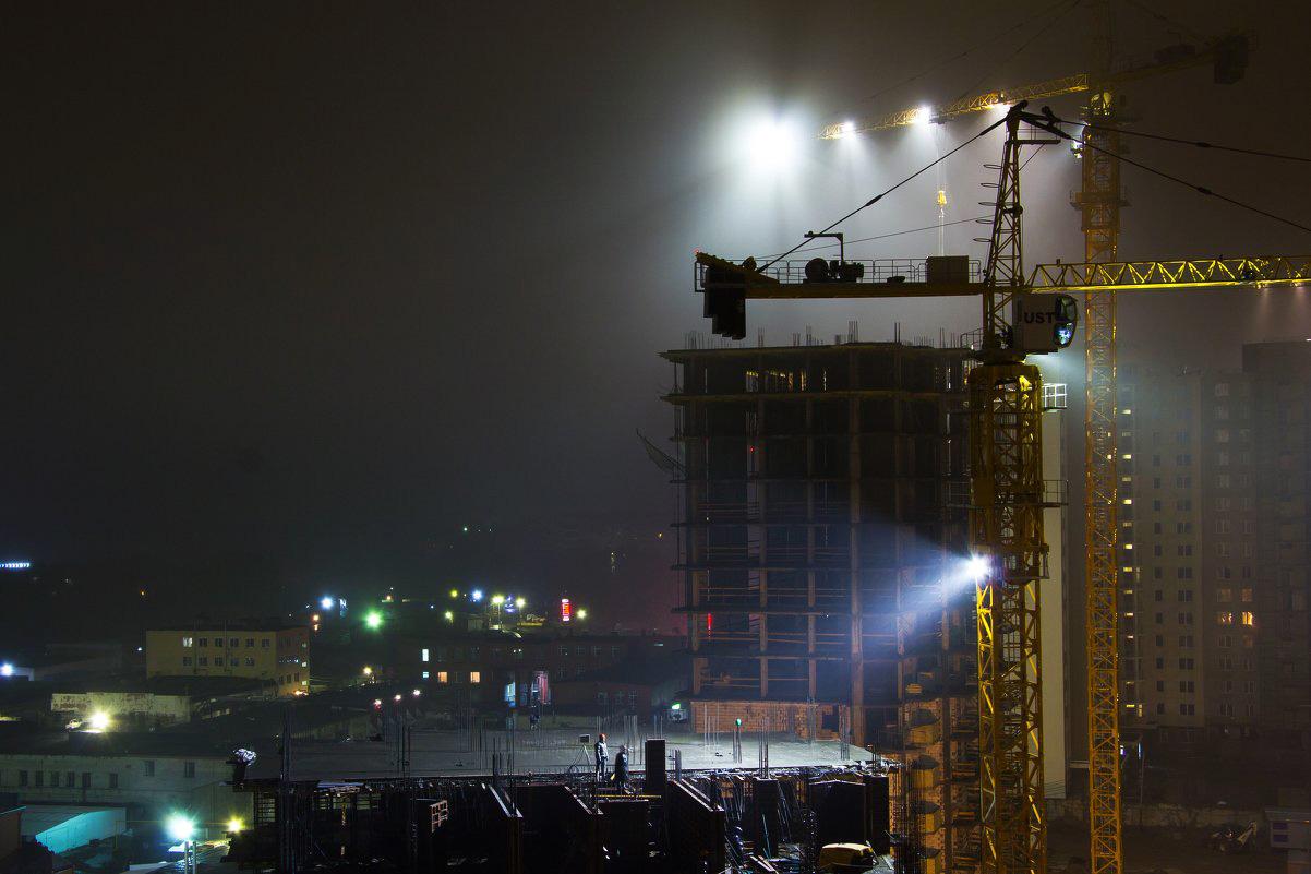 Освещение строительных площадок
